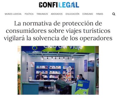 Defensa de los consumidores del sector turístico por la CNMC